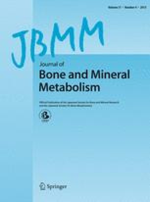 Journal of Bone and Mineral Metabolism