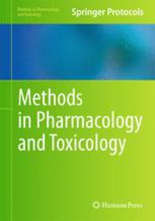 Methods in Pharmacology and Toxicology