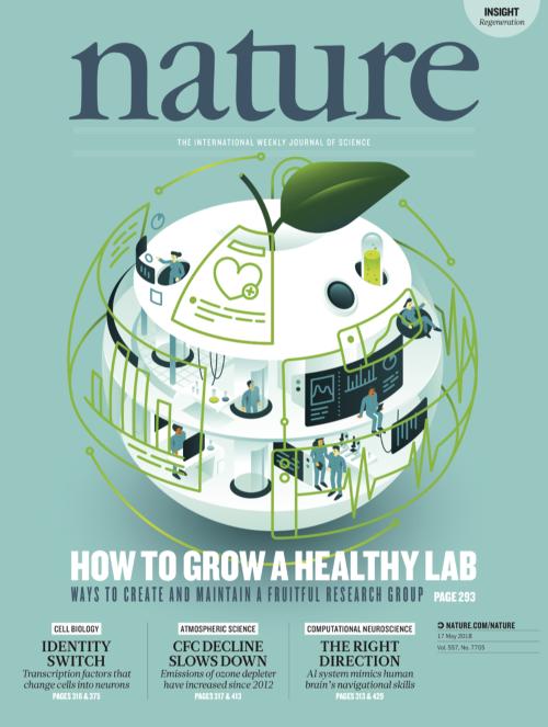 Nature 2018年5月17日号