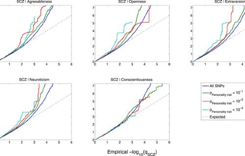 Identification of genetic loci shared between schizophrenia