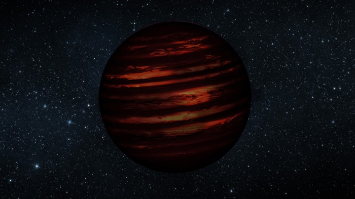 This planet-like object (artist's representation), called SIMP0136, was thought to be a brown dwarf.