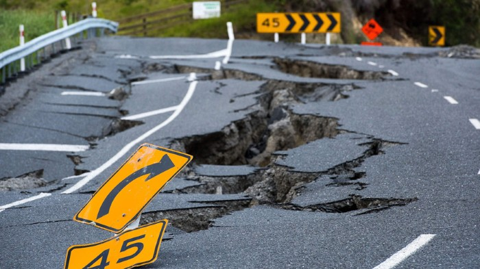 Earthquakes that involve multiple faults, such as this one in Kaikoura, New Zealand, last year, are hard to predict.