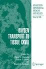 Oxygen Transport to Tissue XXVIII