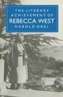 The Literary Achievement of Rebecca West