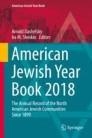American Jewish Year Book 2018