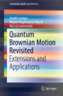 Quantum Brownian Motion Revisited