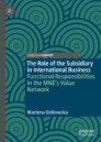 The Role of the Subsidiary in International Business