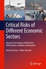 Critical  Risks of Different Economic Sectors