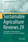Sustainable Agriculture Reviews 29