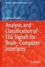 Analysis and Classification of EEG Signals for Brain–Computer Interfaces