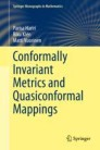 Conformally Invariant Metrics and Quasiconformal Mappings