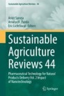 Sustainable  Agriculture Reviews 44