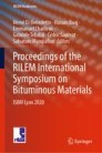 Proceedings of the RILEM International Symposium on Bituminous Materials