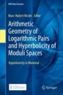 Arithmetic Geometry of Logarithmic Pairs and Hyperbolicity of Moduli Spaces