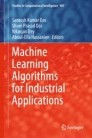Machine Learning Algorithms for Industrial Applications