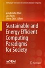Sustainable and Energy Efficient Computing Paradigms for Society