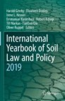 International Yearbook of Soil Law and Policy 2019