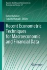 Recent Econometric Techniques for Macroeconomic and Financial Data