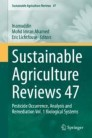 Sustainable Agriculture Reviews 47