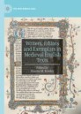 Writers, Editors and Exemplars in Medieval English Texts