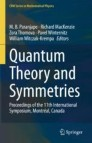 Quantum Theory and Symmetries