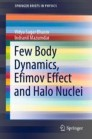 Few Body Dynamics, Efimov Effect and Halo Nuclei