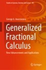 Generalized Fractional Calculus