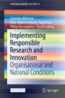 Implementing Responsible Research and Innovation