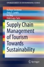 Supply Chain Management of Tourism Towards Sustainability
