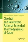 Classical and Relativistic Rational Extended Thermodynamics of Gases
