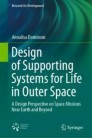 Design of Supporting Systems for Life in Outer Space