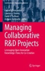 Managing Collaborative R&D Projects