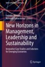 New Horizons in Management, Leadership and Sustainability