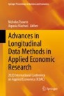 Advances in Longitudinal Data Methods in Applied Economic Research