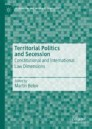 Territorial Politics and Secession