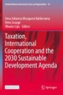 Taxation, International Cooperation and the 2030 Sustainable Development Agenda