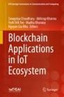 Blockchain Applications in IoT Ecosystem