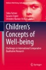 Children's Concepts of Well-being