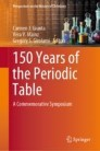 150 Years of the Periodic Table