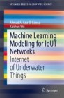 Machine Learning Modeling for IoUT Networks