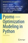 Pyomo — Optimization Modeling in Python
