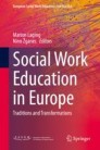 Social Work Education in Europe