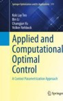 Applied and Computational Optimal Control
