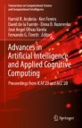 Advances in Artificial Intelligence and Applied Cognitive Computing