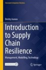 Introduction to Supply Chain Resilience
