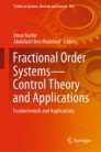 Fractional Order Systems—Control Theory and Applications