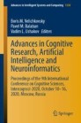 Advances in Cognitive Research, Artificial Intelligence and Neuroinformatics