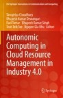 Autonomic Computing in Cloud Resource Management in Industry 4.0