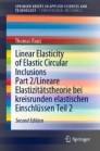 Linear Elasticity of Elastic Circular Inclusions Part 2/Lineare Elastizitätstheorie bei kreisrunden elastischen Einschlüssen Teil 2