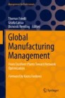 Global Manufacturing Management